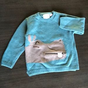 Sweatshirt knit wear